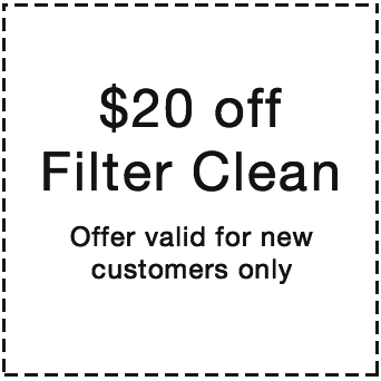 pool deals. $20 off pool filter cleaning