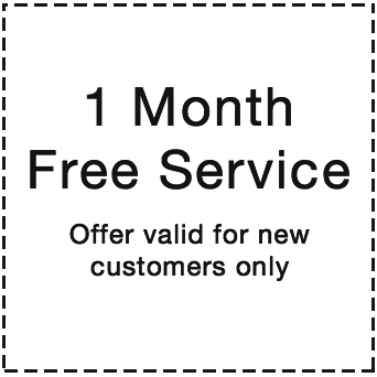 pool deals. 1 month free weekly pool service.